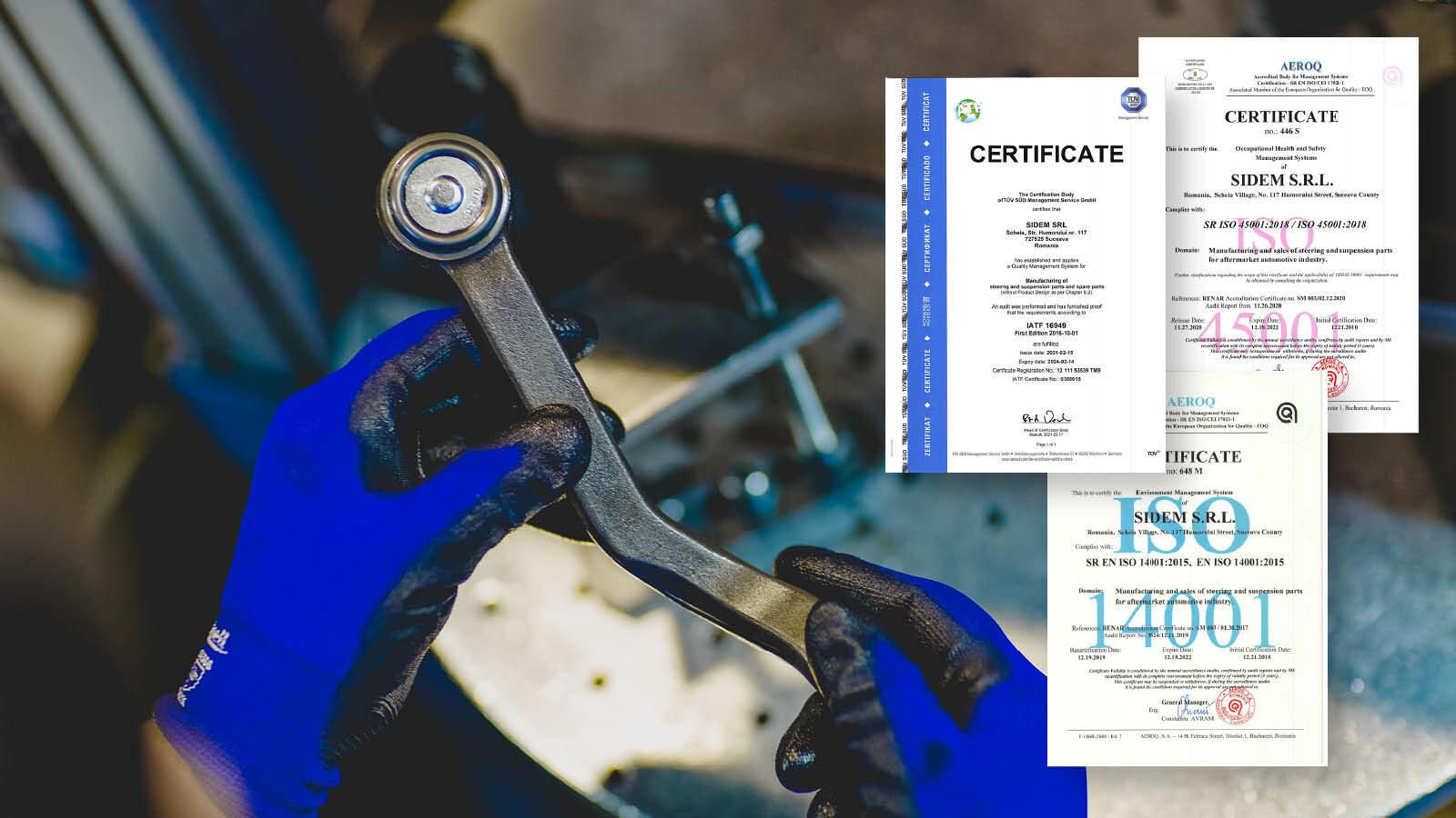 NA Website 2021 Sidem visual quality certificates